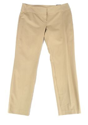 Alfani Womens Pants Beige Size 16 Dress Mid-Rise Slim Tummy Control $59 161