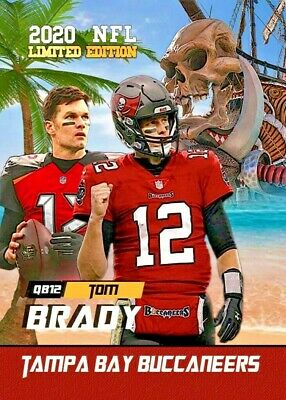 Tom Brady 2020 First Ever Rookie Gems Free Agent The Goat Tampa Bay Buccaneers!
