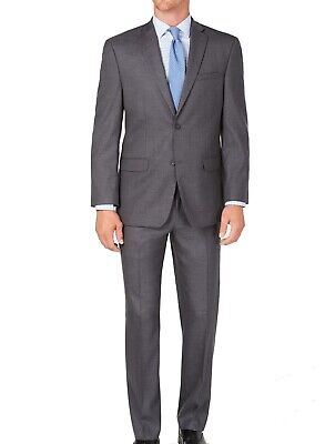 Marc New York Mens Suit Gray Size 31 Short Two-Button Modern-Fit $395 #142