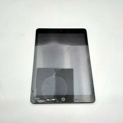 Apple iPad (10.2-Inch, Wi-Fi, 128GB) - Space Gray -DAMAGED!!!-