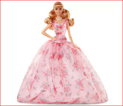 2019 Barbie Happy BIRTHDAY WISHES Doll - Collector's Signature Blond Doll❤️NEW❤️