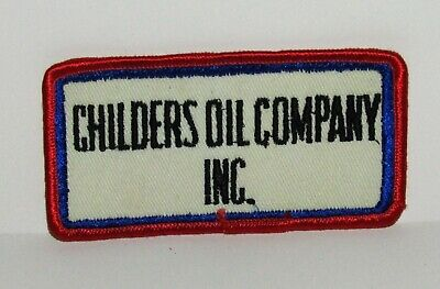 Childers Oil Company Inc. Cloth Sew-On Uniform Patch