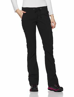 Columbia Womens Pants Black Size 12 Omni-Shade Extensible Stretch $75 878