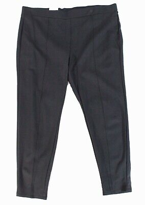 Style & Co. Women's Pants Gray Size 20W Plus Mid-Rise Pull On Stretch $38 #243