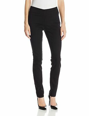NYDJ Womens Jeans Black Size 8 Alina Pull On Ankle Legging Stretch $134 018
