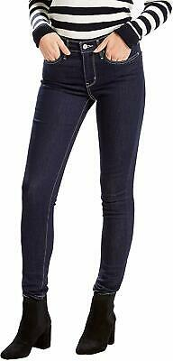Levi's Womens Jeans Blue Size 32X30 Denim Stretch Skinny Leg Midrise $59 142