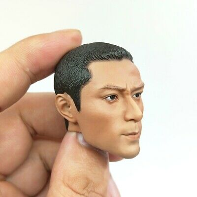 Head Sculpt for FLAGSET FS 73023 Chinese Army Airborne Forces PLAAF 1/6 Figure