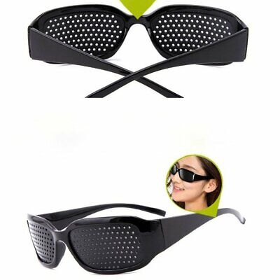 Anti-Fatigue Eye Protection Glasses Vision Care Corrective Improve Pinhole