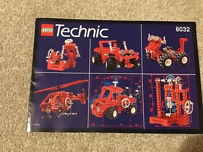 LEGO TECHNIC 8032 UNIVERSAL BUILDING SET | RELEASED in 1994 | Instruction Only