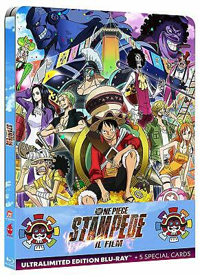 One Piece. Stampede - Il film (2020) s.e. Blu Ray + 5cards metalbox