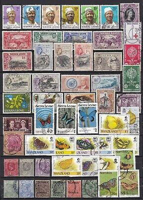 COMMONWEALTH COMMEMORATIVES (ref 55) USED