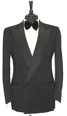 Luxury Vintage Mens Chester Barrie Dinner Tuxedo Tailor Made Suit 40S W34 X L31