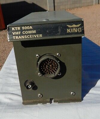 Aircraft & Helicopter King KTR-900A VHF COMM Transceiver Assembly