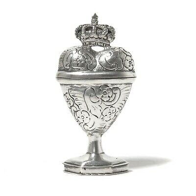 Silver snuff box, 19th century.  Most likely Denmark