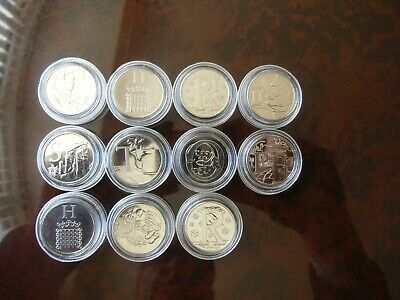 2018 : A-Z Letter 10p coins : C H R I S T O P H E R : Job Lot : UNCIRCULATED