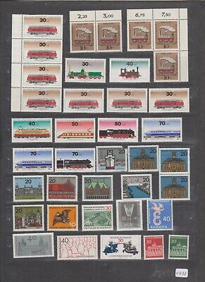 Val 937, 940  _ Germany Deutschland _ nice selection of mint stamps