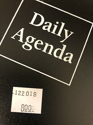 Mead Desk Undated Daily Agenda - Day Planners New with Tags