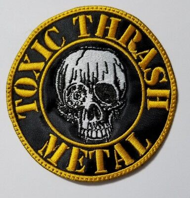 toxic holocaust toxic thrash metal    EMBROIDERED  PATCH