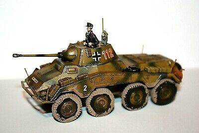 Bolt Action Sdkf 234/2 Armoured Car Puma Pro Painted 28Mm German Wwii