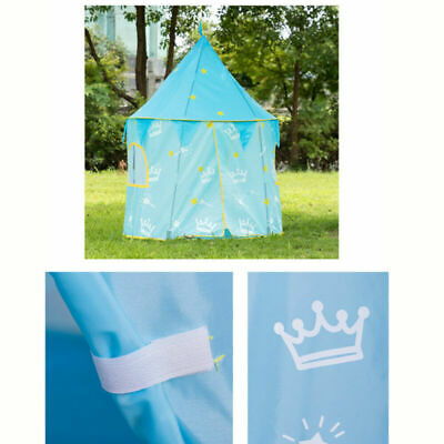 Pop Up Children Play Tent Girls Boys Palace Castle Indoor Outdoor Kids Playhouse