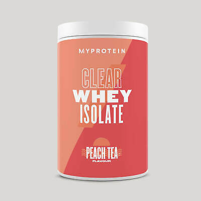 myprotein Clear Whey Isolate all flavours available