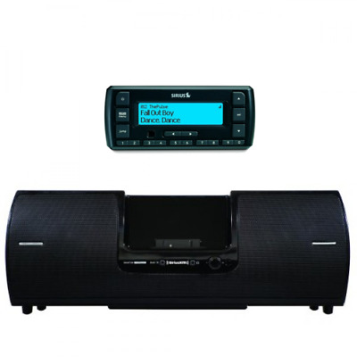SiriusXM Portable Speaker and Stratus 6 Radio Bundle (SXSD2 + SV6)
