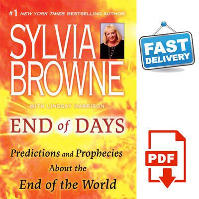 ⭐ End Of Days Predictions And Prophecies End Of World By Sylvia Browne {P.D.F}⚡