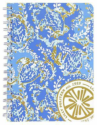 New Lilly Pulitzer Mini Notebook 160 College Ruled Pages Turtley Awesome
