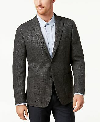 Michael Kors Mens Suit Gray Size 40 Notch-Collar Two Button Wool $350 174