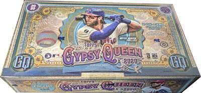 Topps 2020 Gypsy Queen Baseball Factory Sealed Trading Card Hobby Box