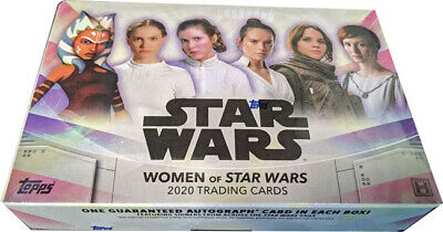 Topps 2020 Women of Star Wars Trading Cards Factory Sealed Hobby Box