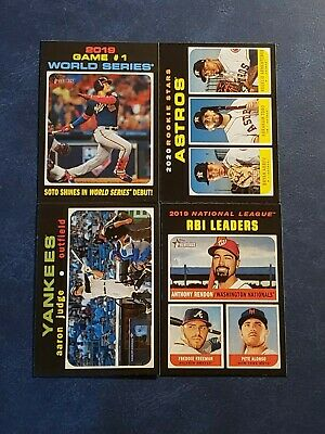 2020 Topps Heritage 201-400 Base Veterans Rookies Pick Your Card Free Shipping