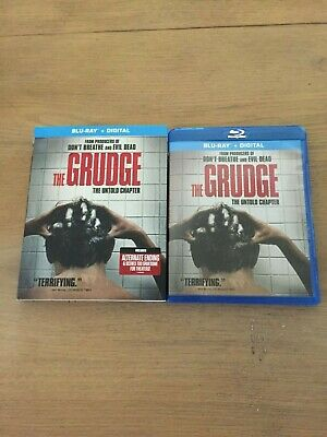 The GRUDGE The Untold Chapter Blu-Ray + UNUSED Digital Code with Slipcover 2020
