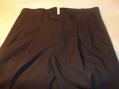 giorgio pacelli 38 x 27 pleated not cuffed 100% polyester #212
