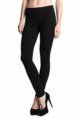 Sanctuary Womens Pants Black Size XS Pull On Mid-Rise Skinny Stretch $79- 931
