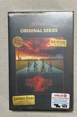 Stranger Things Season 2 Blu-Ray and DVD Collector's Edition Target - NEW SEALED