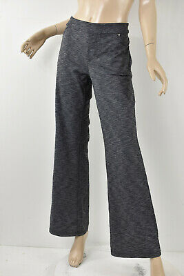 ATHLETA Heather Gray BETTONA CLASSIC PANTS Pull-On Bootcut Stretch Knit  L