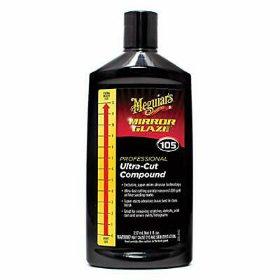 Meguiar's M10508 Mirror Glaze Ultra-Cut Compound, 8 Fluid 8 Ounces