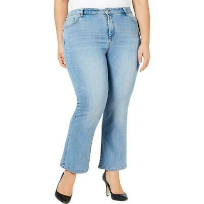 Style & Co. Women's Jeans Blue Size 18W Plus High Rise Stretch Ankle $59 #320