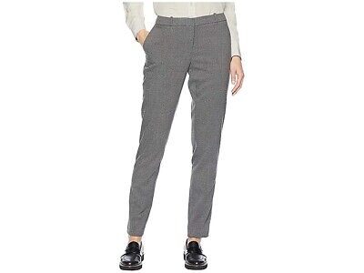 Tommy Hilfiger Womens Pants Gray Size 10 Dress Slim Leg Ankle Stretch $79 805