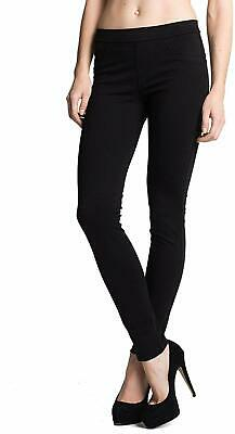 Sanctuary Womens Pants Black Size XS Skinny Mid-Rise Pull On Stretch $79 789