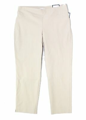 Charter Club Womens Pants Blue Size 20W Plus Short Slim Leg Stretch $69 335