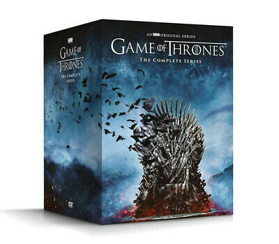 Game Of Thrones: The Complete Series Seasons 1-8 Dvd Box Set Factory Sealed