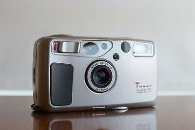 Yashica T5 35mm 3.5 Film Camera Film Tested