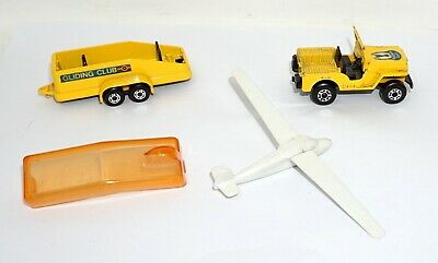 Matchbox Superfast Jeep Transporter No 38 Gliding Club TP-7 1976 Made in England