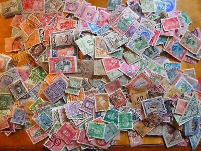 1000+ World stamps taken from an old stamp album - all different