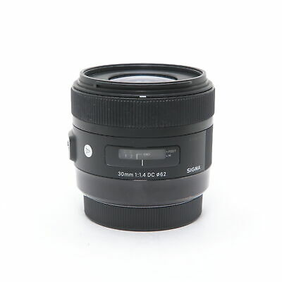 SIGMA  A 30mm F1.4 DC HSM (for Canon EF-S mount) #390
