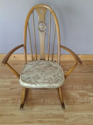 Ercol Swan Back Rocking Chair