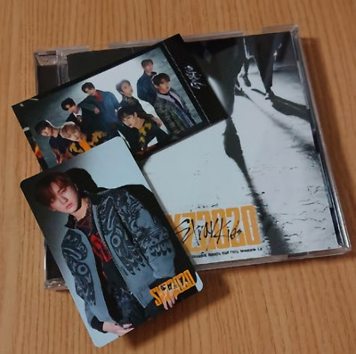 STRAY KIDS SKZ2020 1CD + 2PHOTOCARD Limited edition production COLLECTION 2