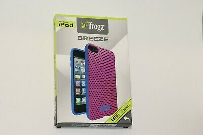 Blue Clear ifrogz Silicone Wrapz /& Clear Crystal for iPod Touch 2G Red